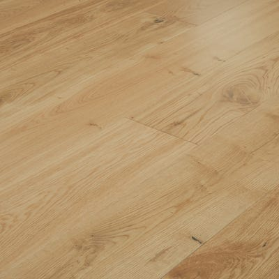 20 x 191mm Oak Lacquered T&G Engineered Wood Flooring