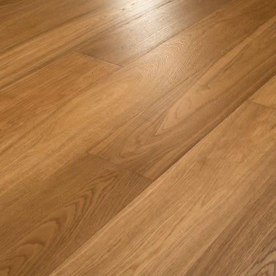 14 x 189mm Smoked Stained Oak Oiled T&G Engineered Wood Flooring