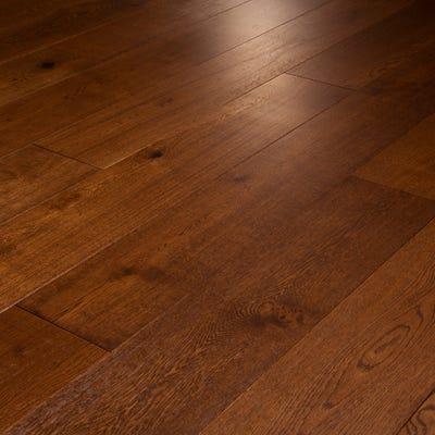 14 x 189mm Auburn Oak Oiled Click Engineered Wood Flooring
