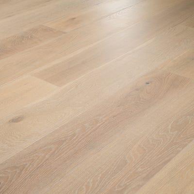 14 x 189mm Scandic White Oak Oiled Click Engineered Wood Flooring
