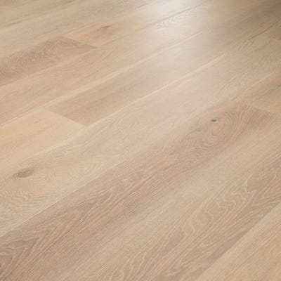 14 x 189mm Scandic White Oak Oiled Click Engineered Wood Flooring