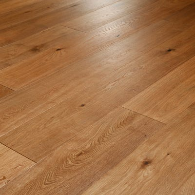 14 x 189mm Majestic Oak Smoked, Brushed and Oiled Click Engineered Wood Flooring