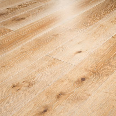 20 x 220mm Limed Oak Oiled T&G Engineered Wood Flooring