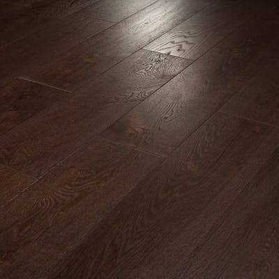 18 x 189mm Coffee Oak Oiled T&G Engineered Wood Flooring