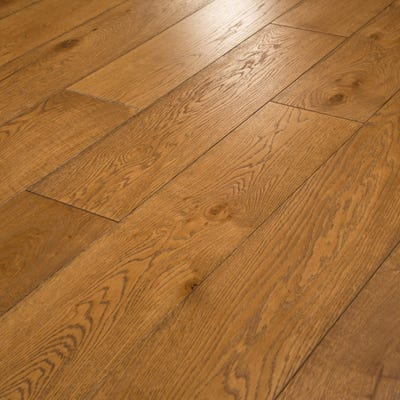 18 x 189mm Nutmeg Oak Oiled T&G Engineered Wood Flooring