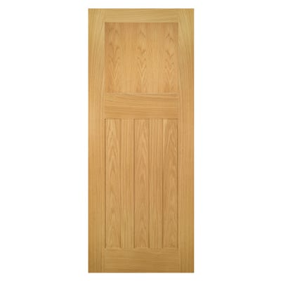 Deanta Internal Oak Cambridge DX FD30 Fire Door