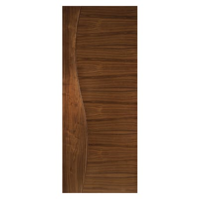 Deanta Internal Walnut Cadiz Prefinished FD30 Fire Door