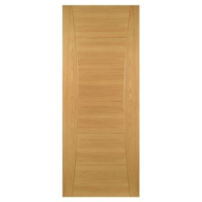 Deanta Internal Oak Pamplona 6 Panel Prefinished FD30 Fire Door