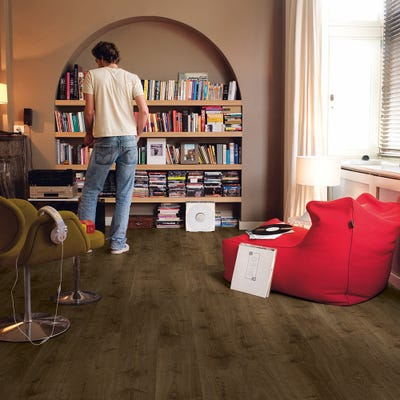 Quick Step Creo CR3183 Virginia Oak Brown Laminate Flooring