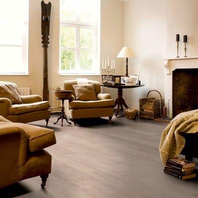 Quick Step Classic CLM1291 Bleached White Oak Laminate Flooring