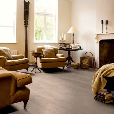 Quick Step Classic CLM1291 Bleached White Oak Laminate Flooring
