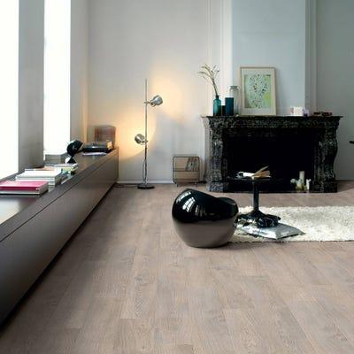 Quick Step Classic CLM1405 Old Oak Light Grey Laminate Flooring