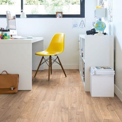 Quick Step Classic CLM1487 Midnight Oak Natural Laminate Flooring