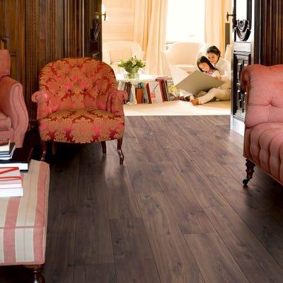 Quick Step Classic CLM1488 Midnight Oak Brown Laminate Flooring