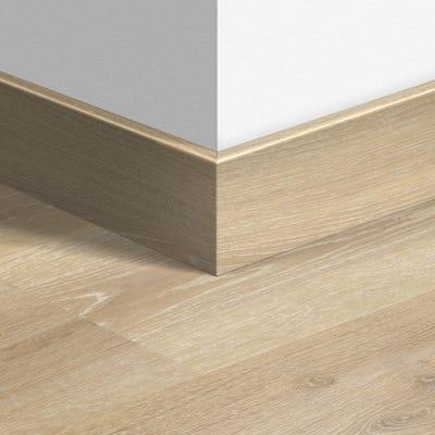 Quick Step Tennessee Oak Light Wood Parquet Skirting 14 x 77 x 2400mm Design QS3179