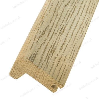 Solid Oak Stair Nosing 14mm Floors Smoked 0.9m