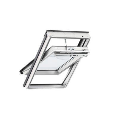 VELUX Integra Solar Triple Glazed White Roof Window