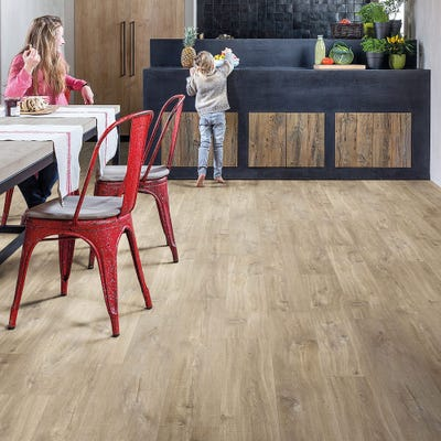 Quick Step Livyn Balance Click BACL40031 Canyon Oak Light Brown with Saw Cuts Vinyl Flooring