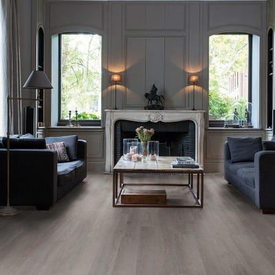 Quick Step Livyn Balance Click BACL40060 Silk Oak Dark Grey Vinyl Flooring