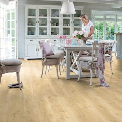 Quick Step Livyn Balance Click+ BACP40018 Drift Oak Beige Vinyl Flooring