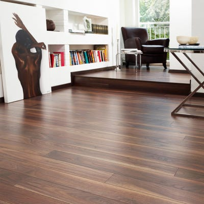 Krono Original Variostep Classic 7658 Dark Walnut 8mm Laminate Flooring