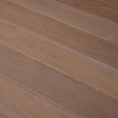 14 x 189mm Smoked and White Oiled Oak Click Engineered Wood Flooring