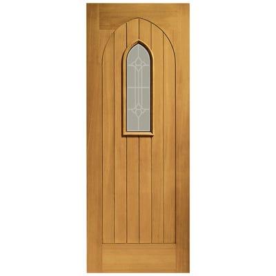 XL Joinery External Oak Westminster Prefinished 1L Glazed Door 1981 x 838 x 44mm