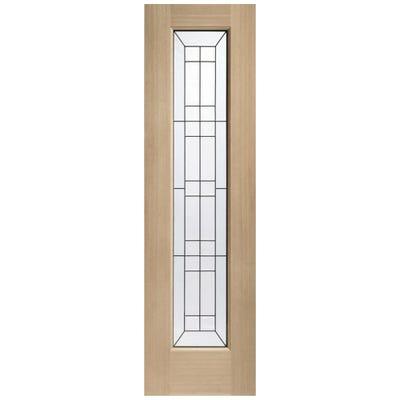 XL Joinery External Oak Triple Glazed Sidelight 2032 x 584 x 44mm