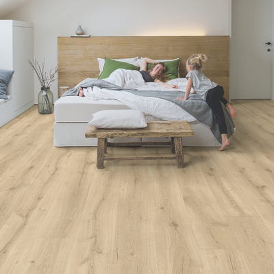 Quick Step Majestic MJ3550 Desert Oak Light Natural Laminate Flooring