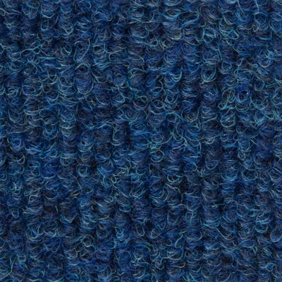 English Blue 500mm x 500mm Burmatex Cordiale Carpet Tile