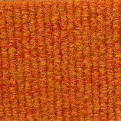 Ukrainian Orange 500mm x 500mm Burmatex Cordiale Carpet Tile