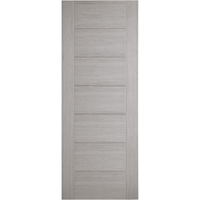 LPD Internal Light Grey Hampshire 7 Panel Prefinished FD30 Fire Door