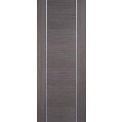 LPD Internal Chocolate Grey Alcaraz Prefinished Door