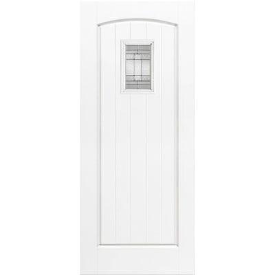 LPD External Composite/GRP Cottage 1L White Glazed Door