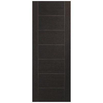 XL Joinery Internal Dark Grey Palermo 7 Panel Prefinished Door