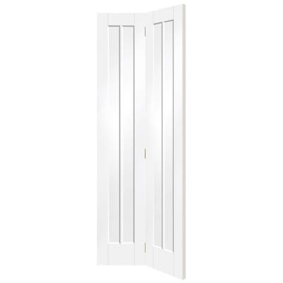 XL Joinery Internal White Primed Worcester 3 Panel Bi-Fold Door 1981 x 762 x 35mm