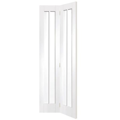 XL Joinery Internal White Primed Worcester 2L Clear Glazed Bi-Fold Door 1981 x 762 x 35mm