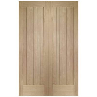 XL Joinery Internal Oak Suffolk 6 Panel Door Pair