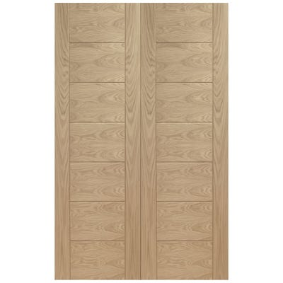 XL Joinery Internal Oak Palermo 1L Door Pair