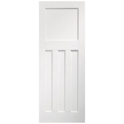 XL Joinery Internal White Primed DX 4 Panel FD30 Fire Door