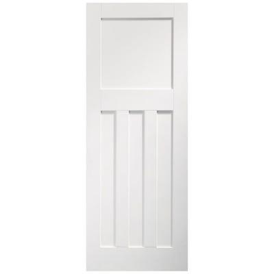 XL Joinery Internal White Primed DX 4 Panel FD30 Fire Door