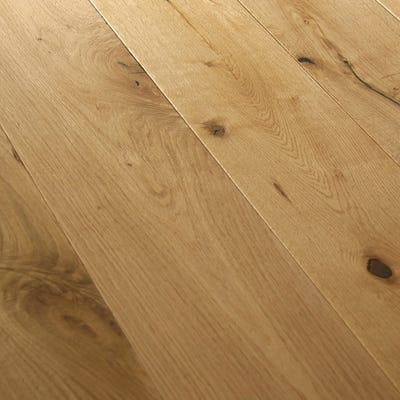 Kahrs 14 x 189mm Natural Oak Matt Lacquered Click Engineered Wood Flooring