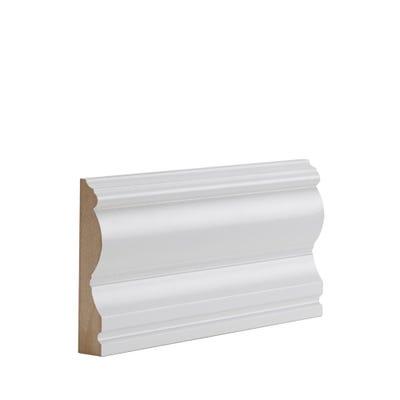 Deanta Internal White Primed Victoriana Architrave 100 x 18 x 2100mm