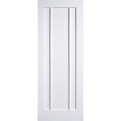 LPD Internal White Primed Lincoln 3 Panel Door 2032 x 813 x 35mm