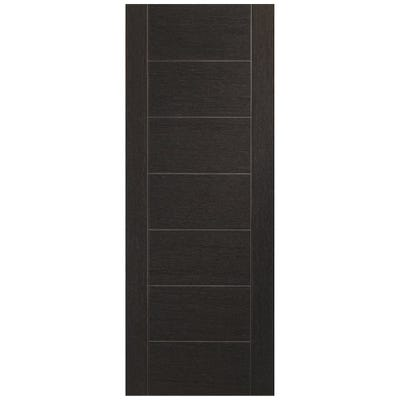 XL Joinery Internal Dark Grey Palermo 7 Panel Prefinished FD30 Fire Door