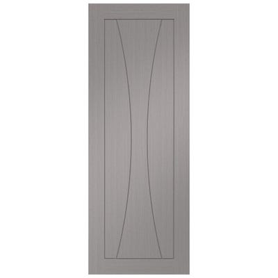 XL Joinery Internal Light Grey Verona Prefinished Door