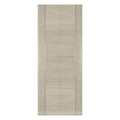 Deanta Internal Light Grey Ash Montreal 6 Panel Prefinished Door