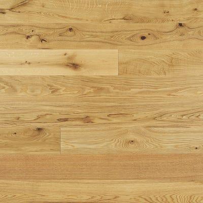 Elka 14 x 190mm Rustic Oak Lacquered Engineered Wood Flooring ELKA14LROAKUC