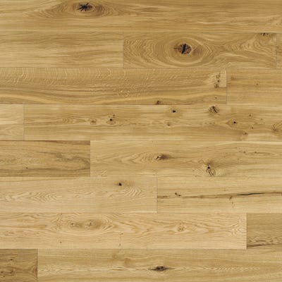 Elka 14 x 190mm Rustic Oak Brushed and Oiled Engineered Wood Flooring ELKA14BOROAKUC