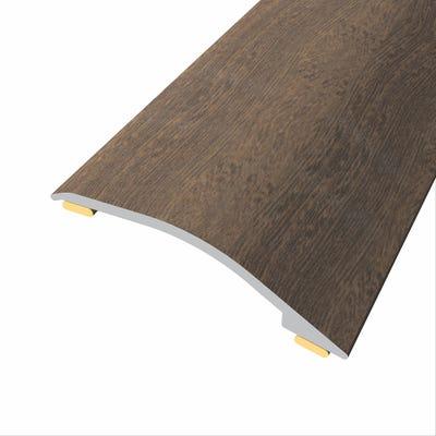 Laminate Stickdown Threshold Adjustable Ramp 3-12mm Dark Walnut 0.9m